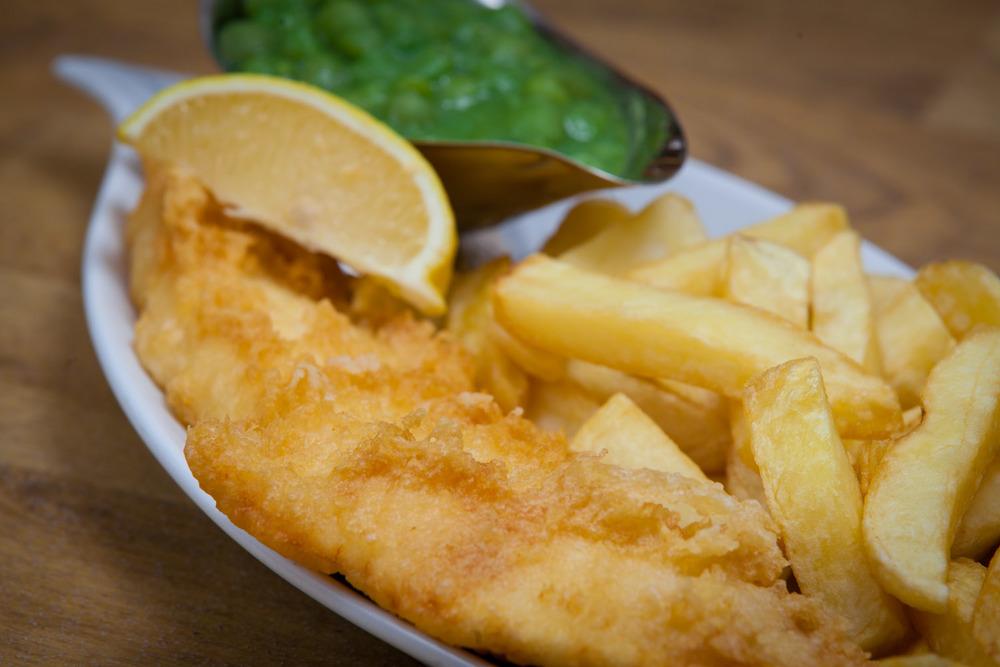 Award winning fish and chips