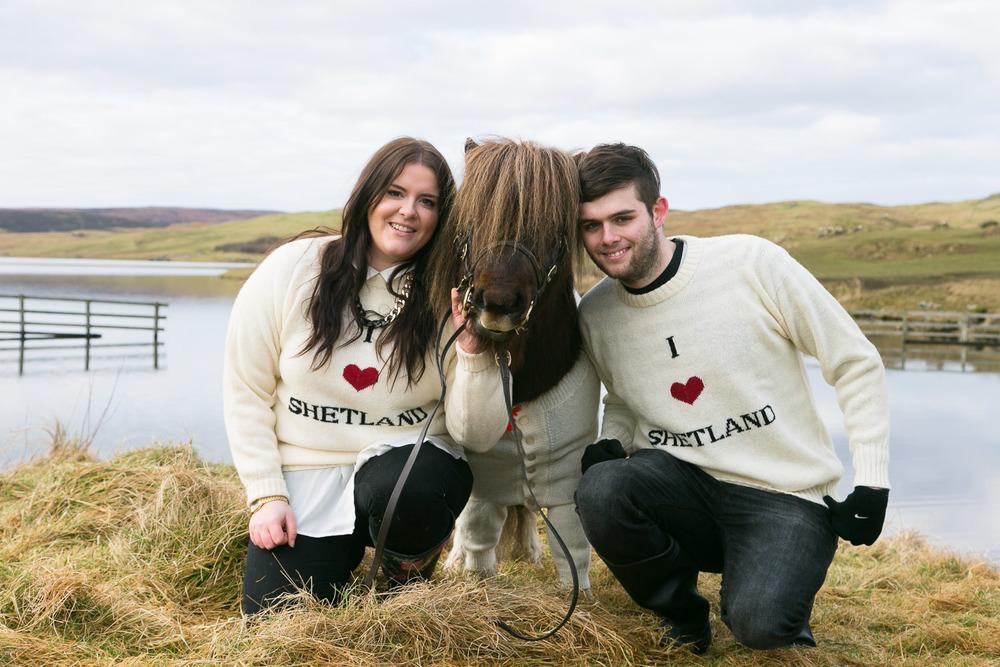 Shetland Pony Socks wears heart on his sleeve