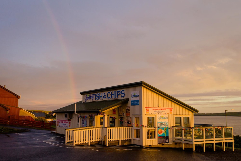 Frankie's Fish and Chips, Shetland