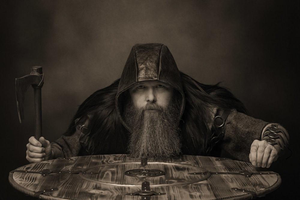 Andrew Hall aka Halfdan Ragnarsson
