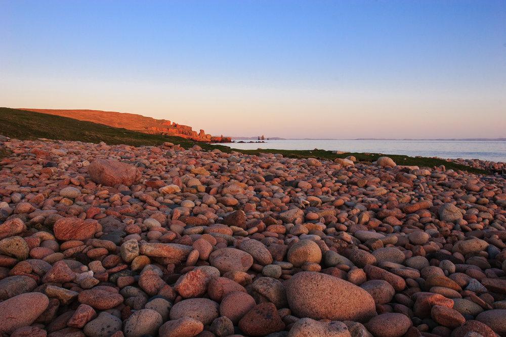 Sunset, Eshaness, Shetland