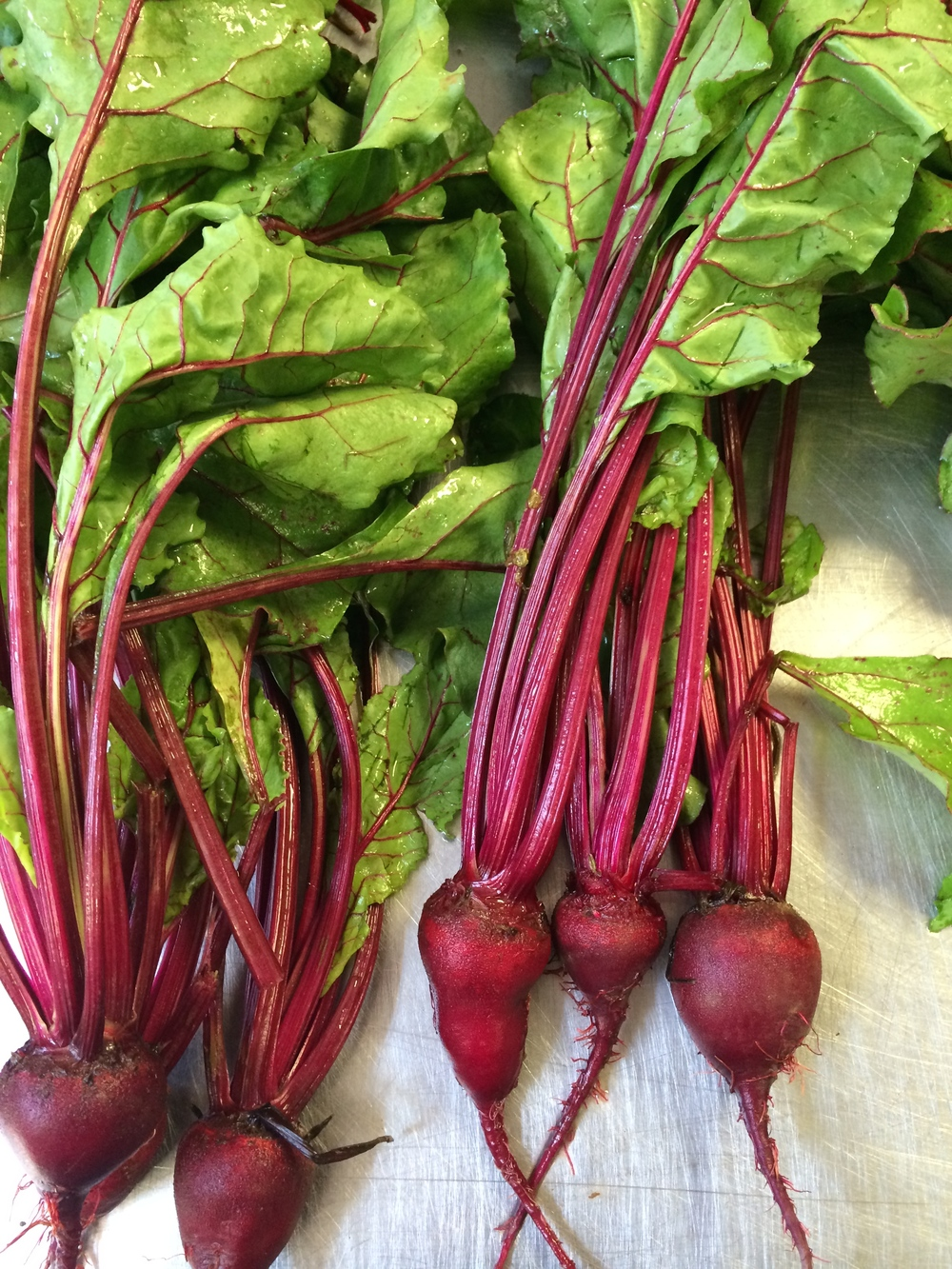 Our gorgeous & vibrant beets.