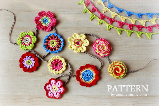 Time to pick up the crochet hook again and think of spring.