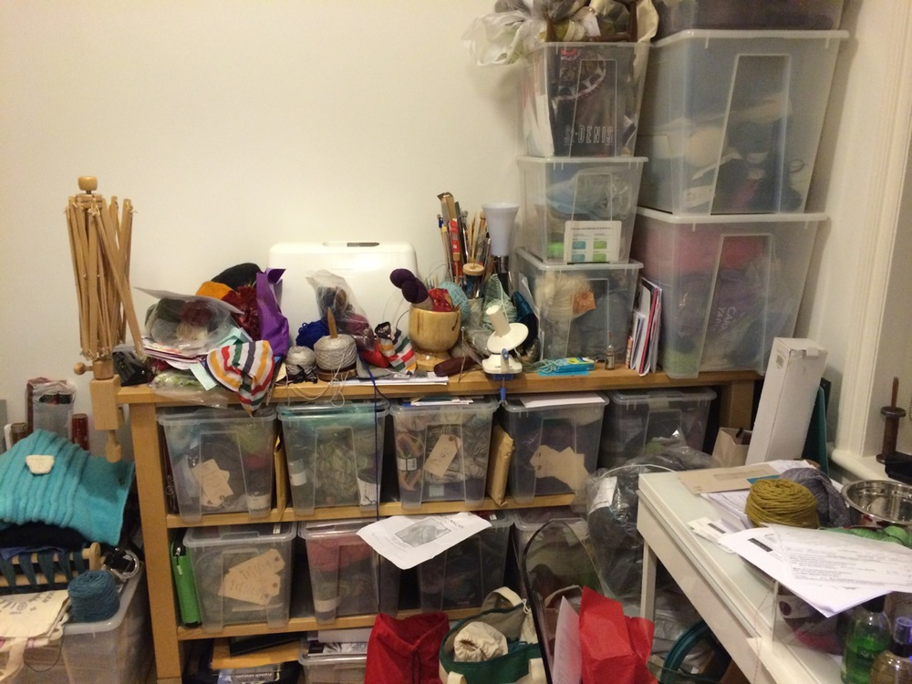 The horror. The horror! Meet my disorganisation nightmare.