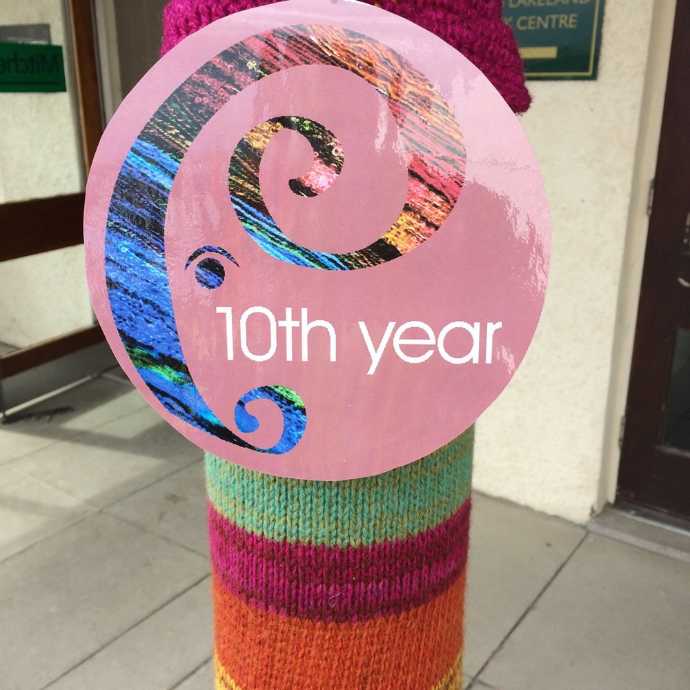Did I mention that Woolfest has been running for 10 years now? Amazing support from the UK's knitting community!