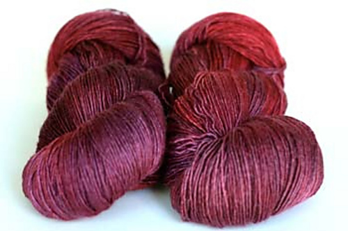 The glorious Tanis Red Label cashsilk single. Photo: Tanis Fiber Arts