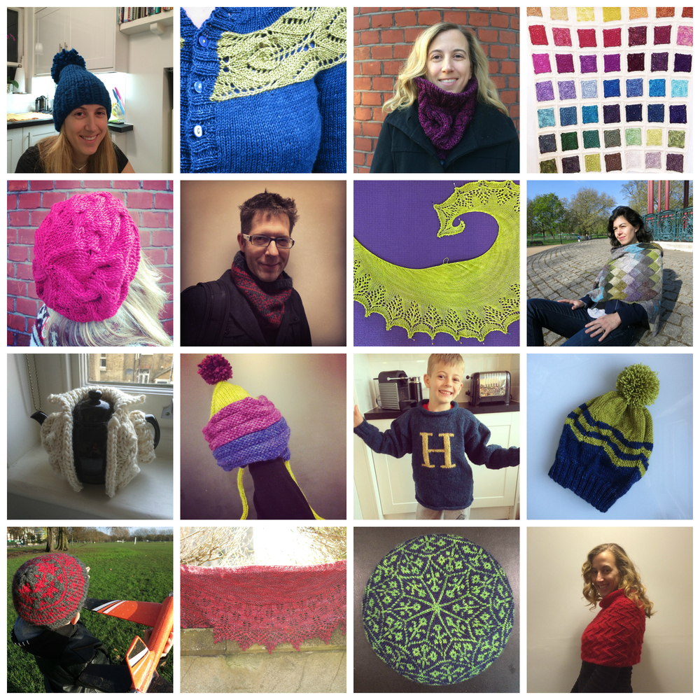 My 2014 finishes, all of which can be found in  my projects  on Ravelry
