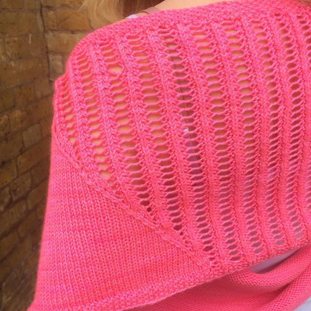 I love the versatility of a long cowl - in the summer, it becomes a cosy shrug!