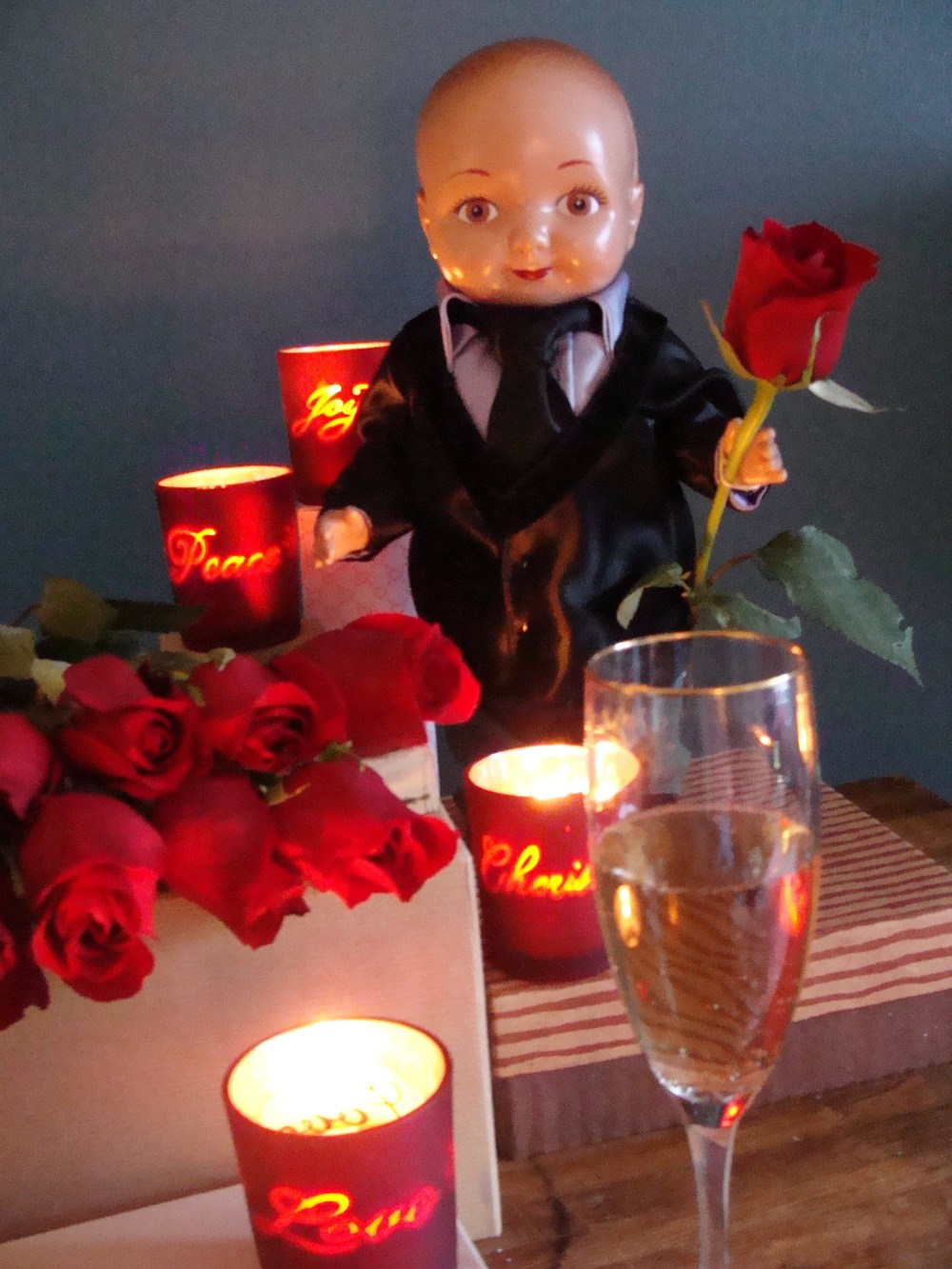 Buddy Ian as The Bachelor
