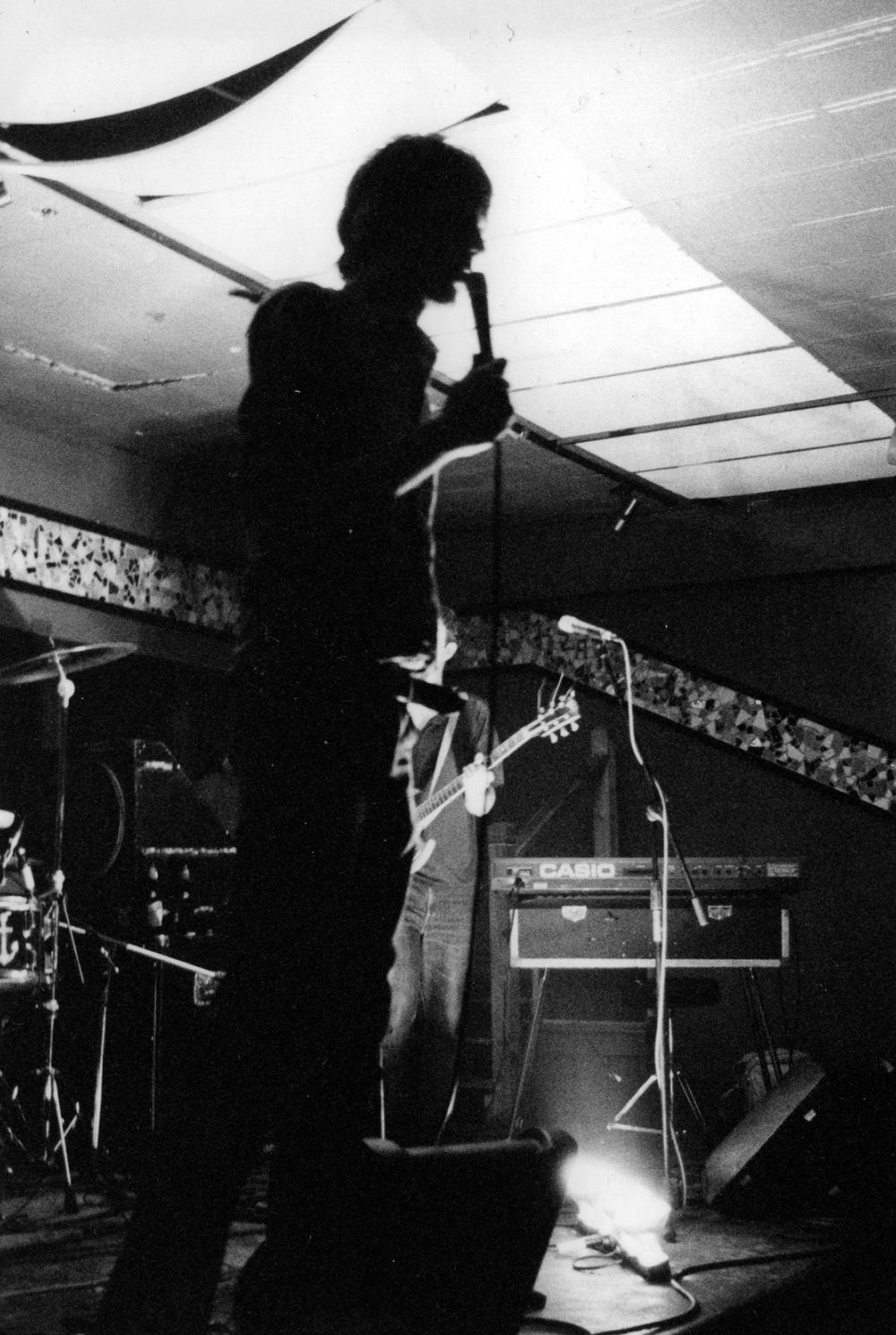 Joel in silhouette