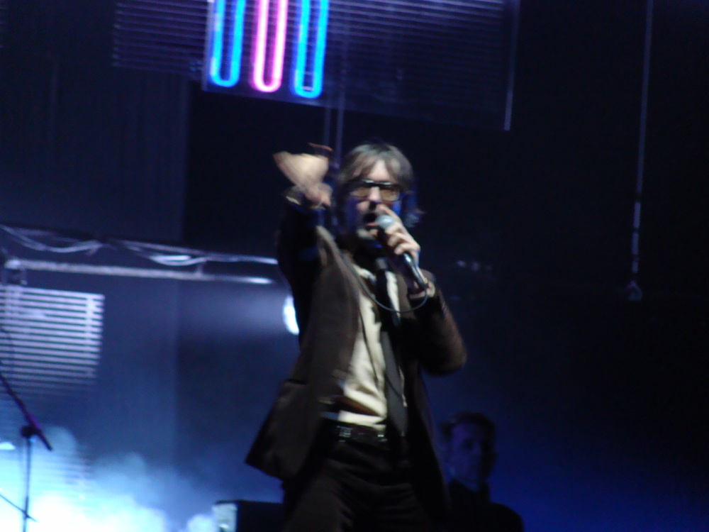 Jarvis Cocker of Pulp at Radio City Music Hall, NYC