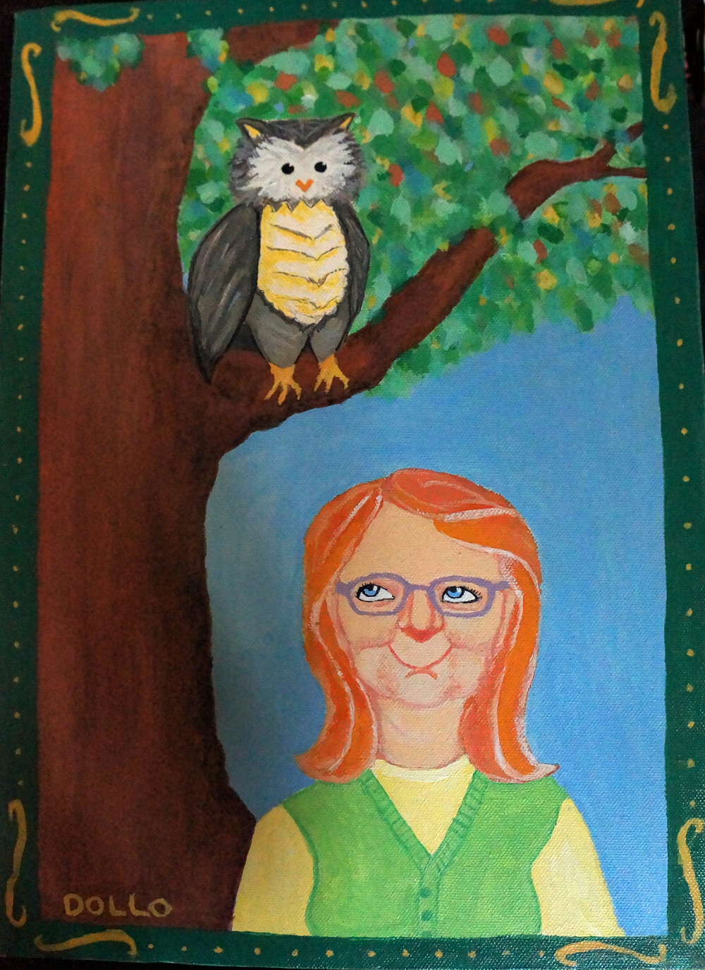 Inajayne and an Owl