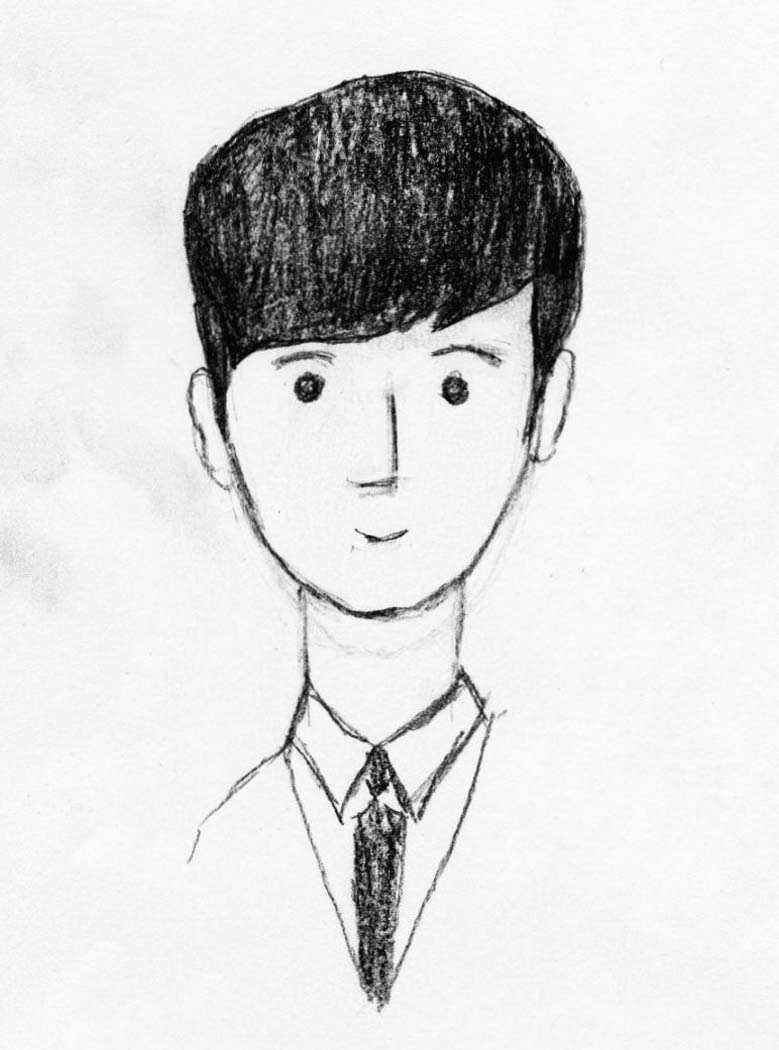 Sketch of Do Min-joon in My Love from Another Star