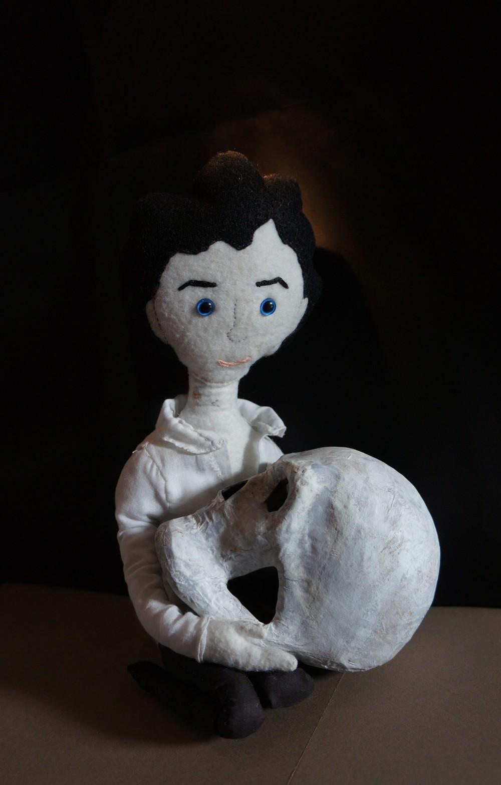 Sherlock as Hamlet
