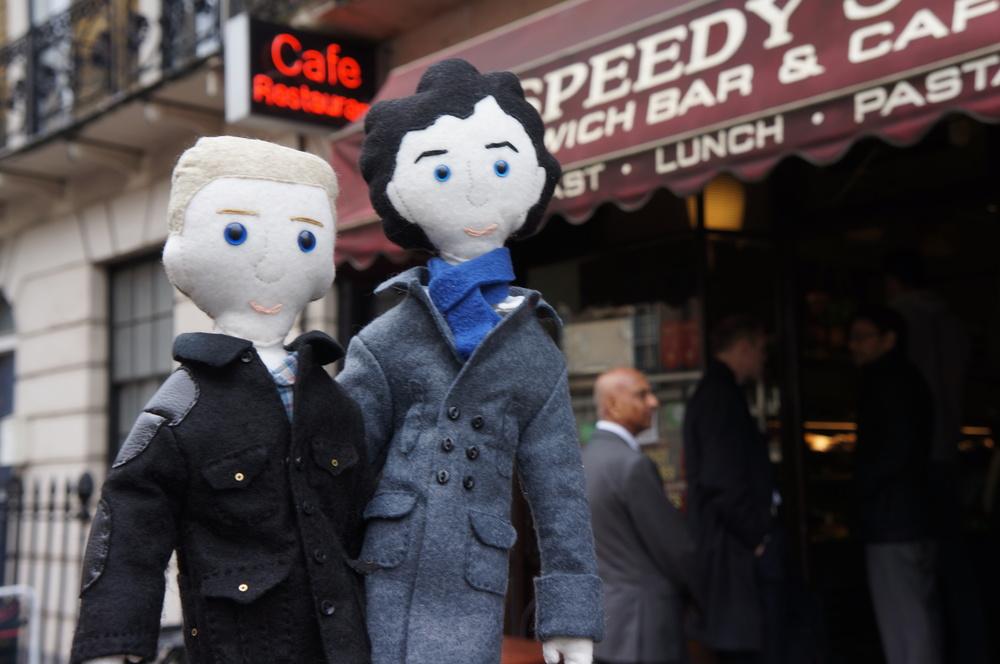 Mini John and Sherlock