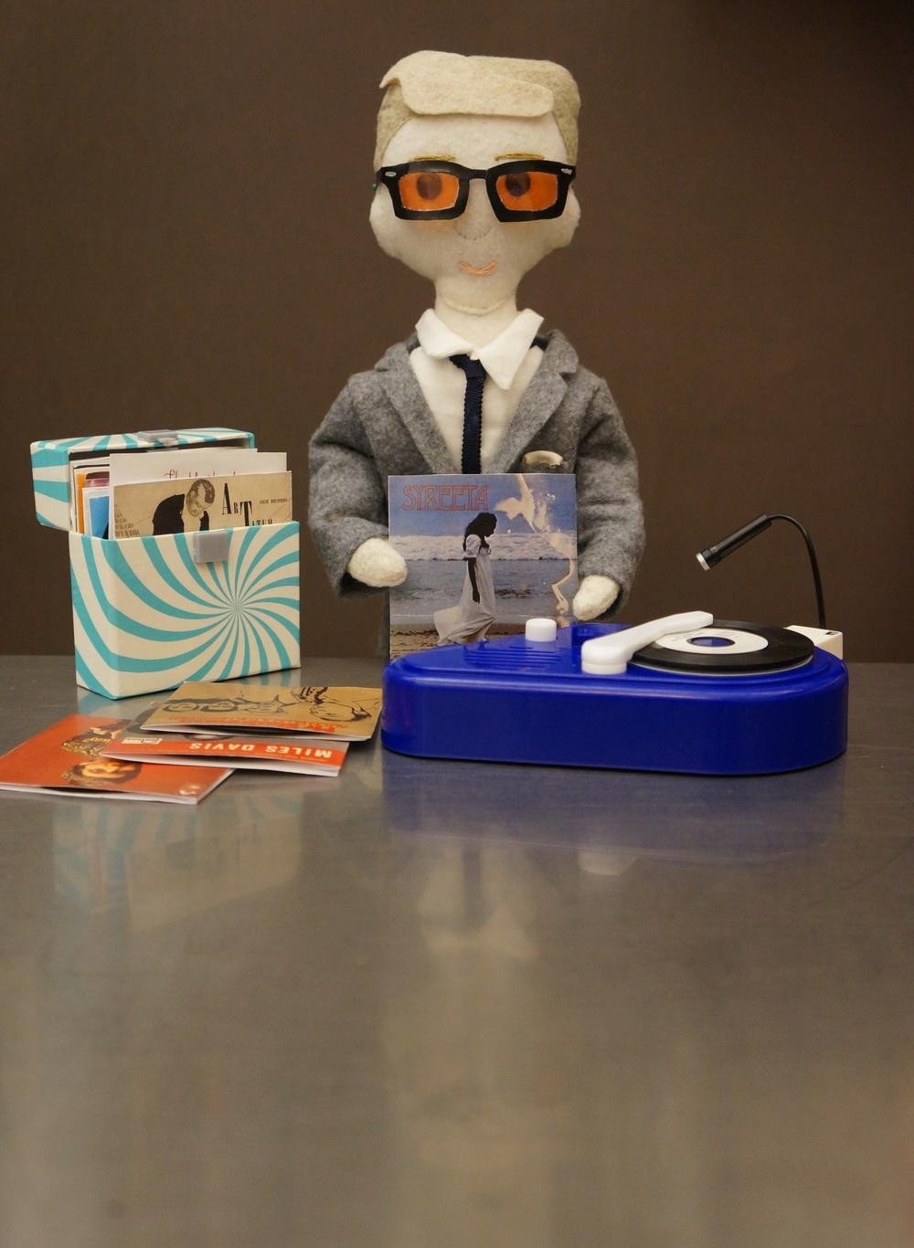Mini John doll as Martin Freeman