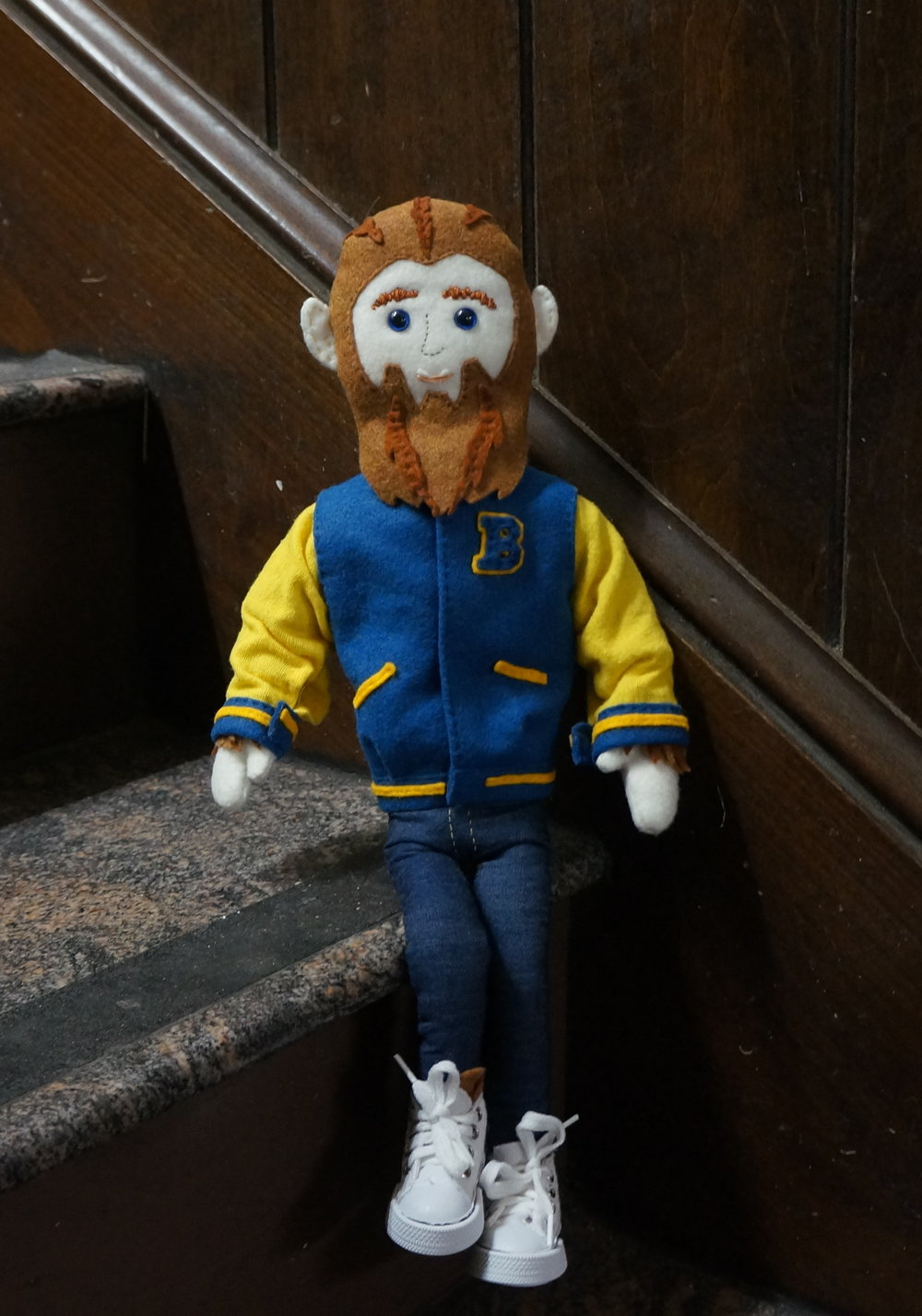 Teen Wolf doll