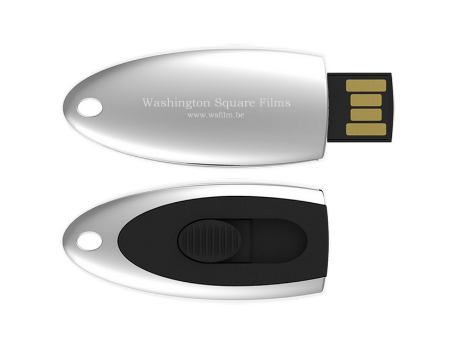 Your film in 1080p High-Definition, on a USB key.