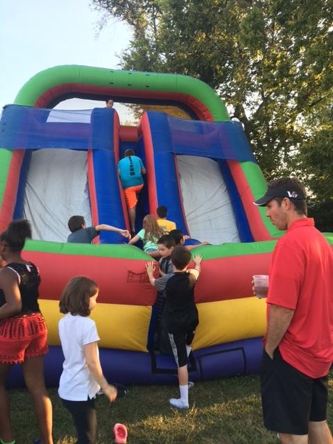 Inflatable fun climbing line.JPG