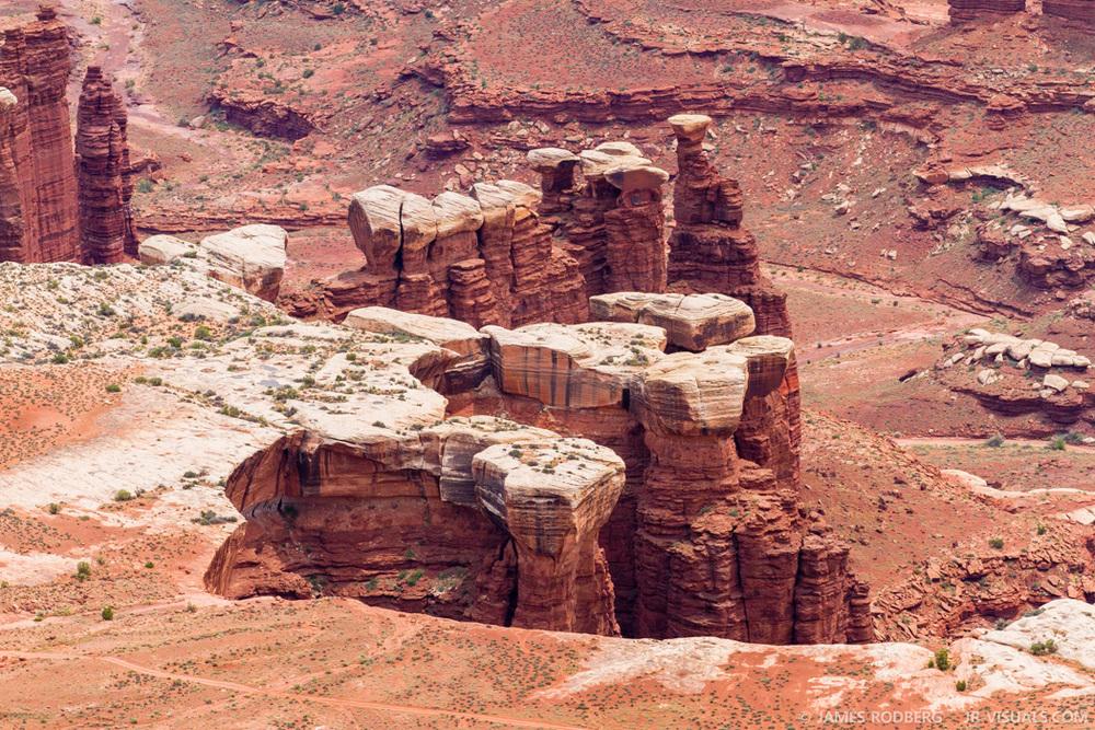 Canyonlands Utah Hoodoos #5620-2
