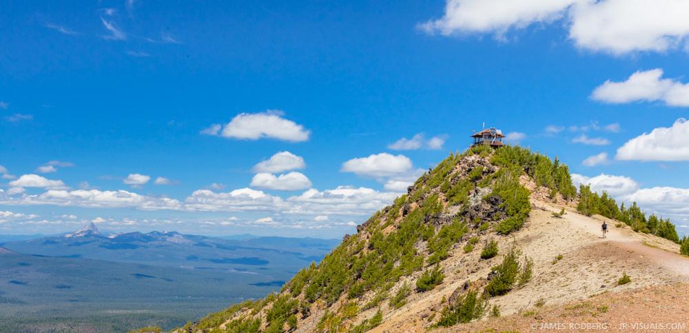 Crater Lake Oregon Mt Scott Summit #0391