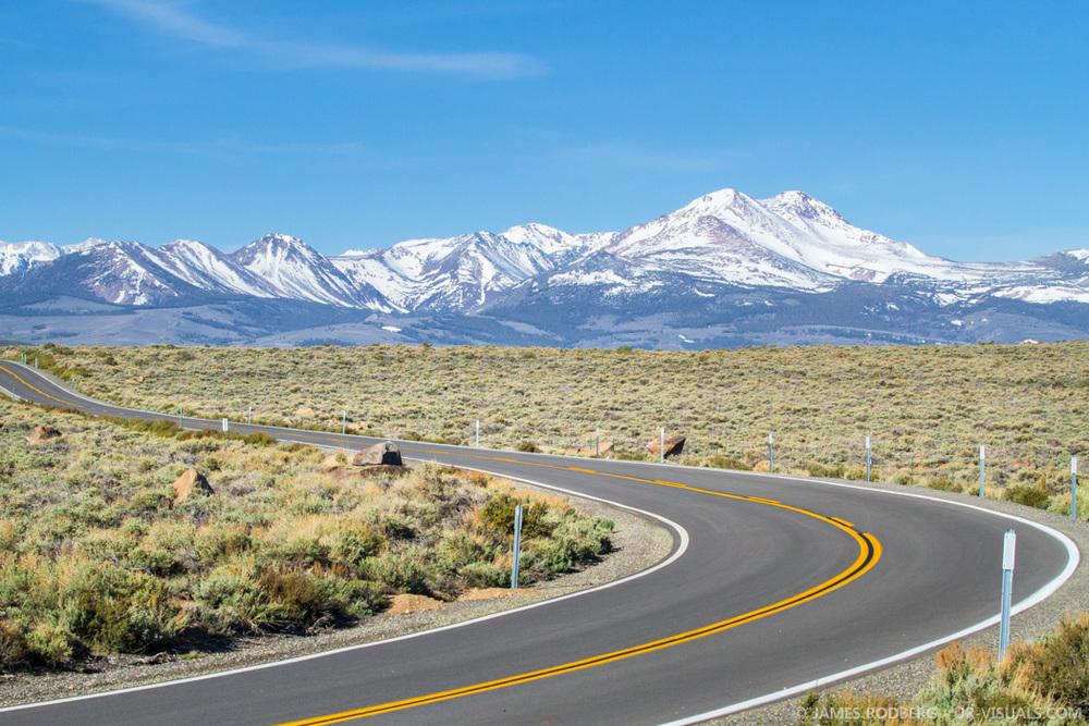 High Mountain Road Eastern Sierra Nevada Mountain Range California #6860-2