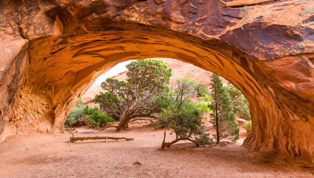Navajo Arch Arches National Park Utah #2813
