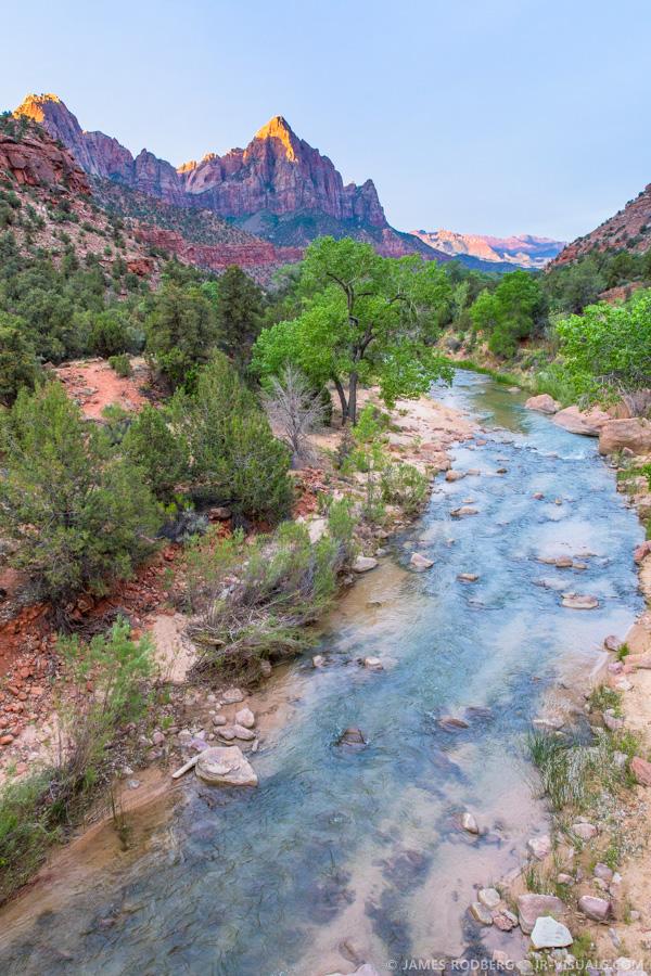 Zion Utah Virgin River #6001