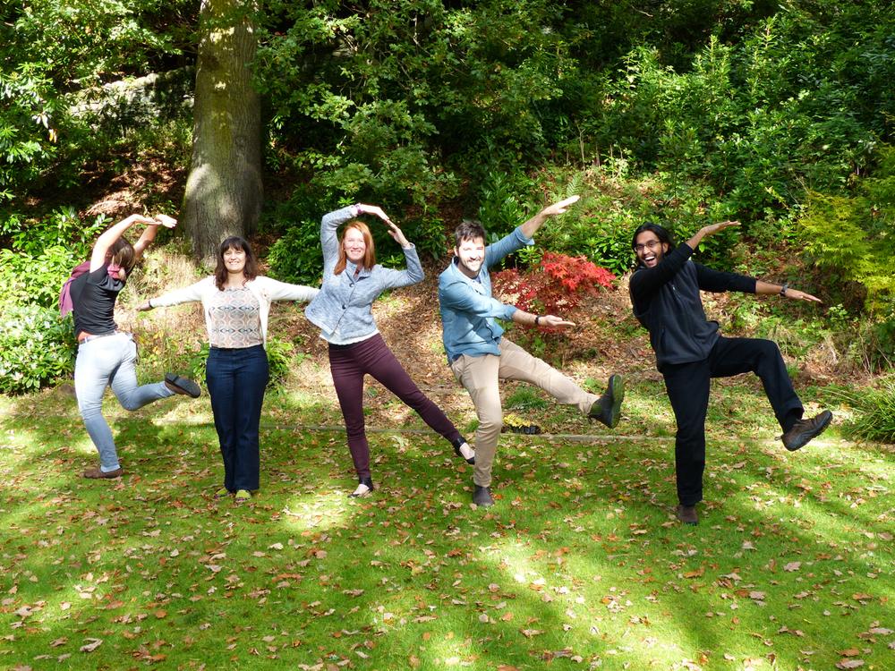 """Dunkeld workshop participants make a valliant effort to communicate """"gtree"""""""