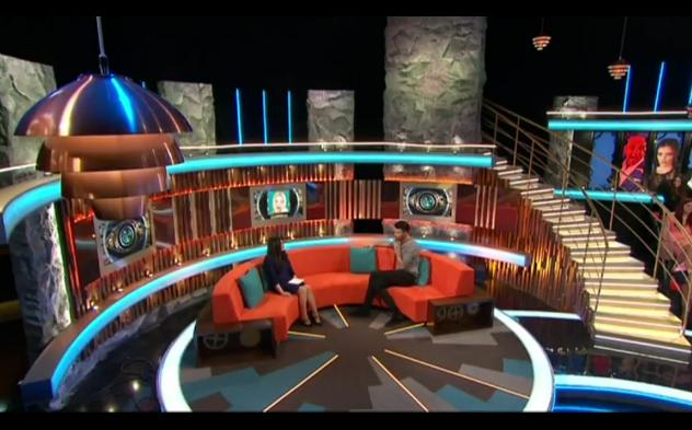 Priya Sher and Rylan Clark on Big Brother 2015