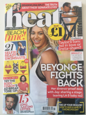 Heat Magazine - 9-15th July 2016