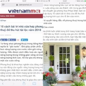 Vietnam Moi - June 2018