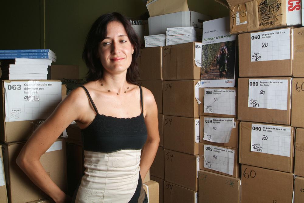 Julie Mongeau Ecosociété - Photographié pour Je lis Montréal