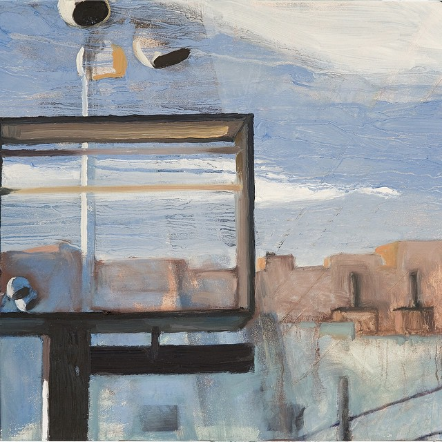 Sharon Feder #Modern #Industrial #Landscape #Paintings at #Gallery81435 in #telluride #sharonfeder #telluridearts #october #tellurideartsdistrict #colorado #denver #artist #painter #contemporaryart