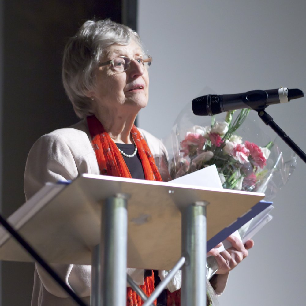 Sheila Rosenberg at the CELEBRATION to mark 33 years of the trust