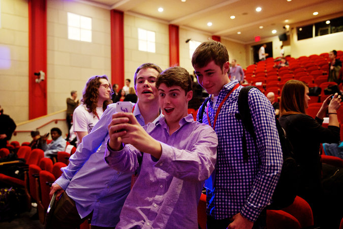 The New York Times on The Youngest Technorati. Michael Hansen, Ryan Orbuch and William LeGate at the TEDxTeen event in SoHo this month.