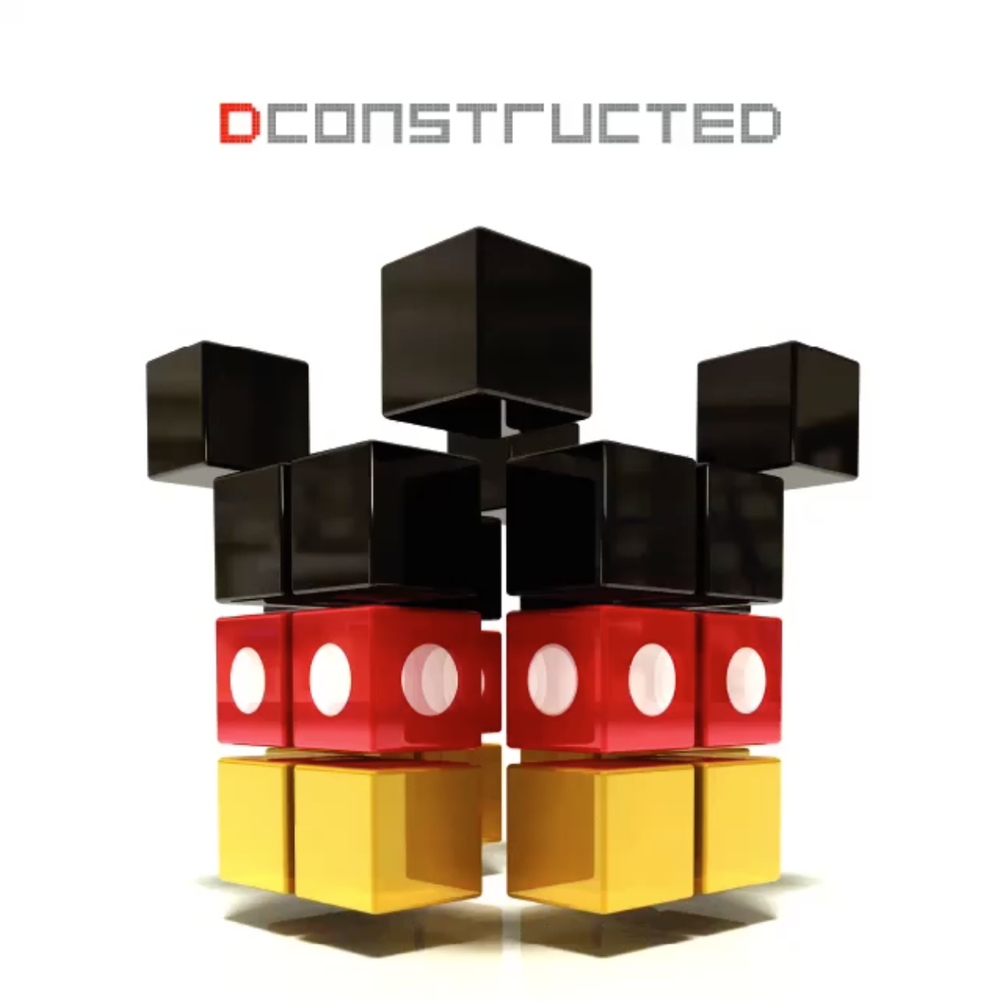 Disney's DCONSTRUCTED EDM album will be released on April 22nd.