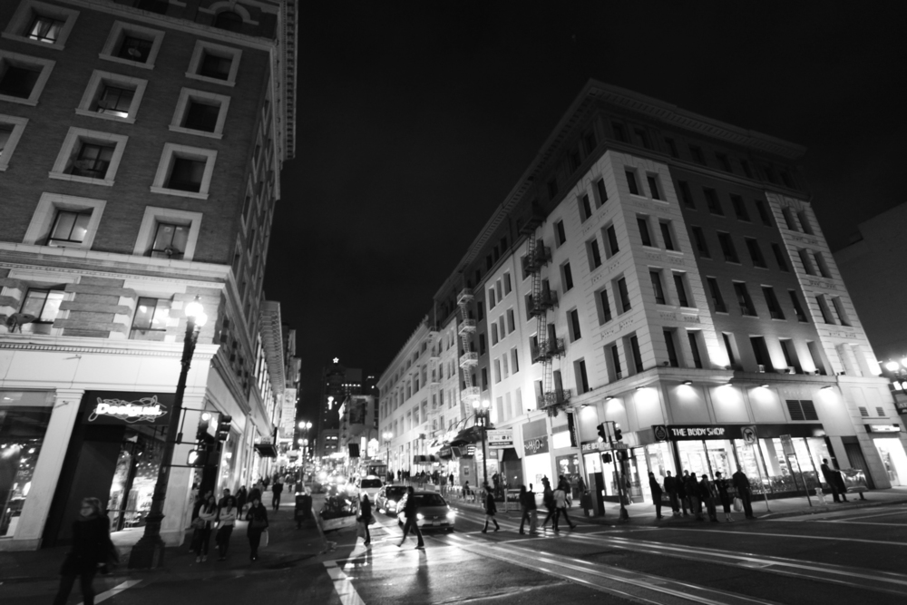 Night Lights, Powell & Ellis, San Francisco