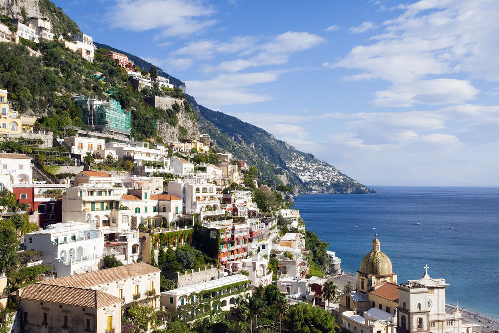 Positano 1, Amalfi Coast, Italy