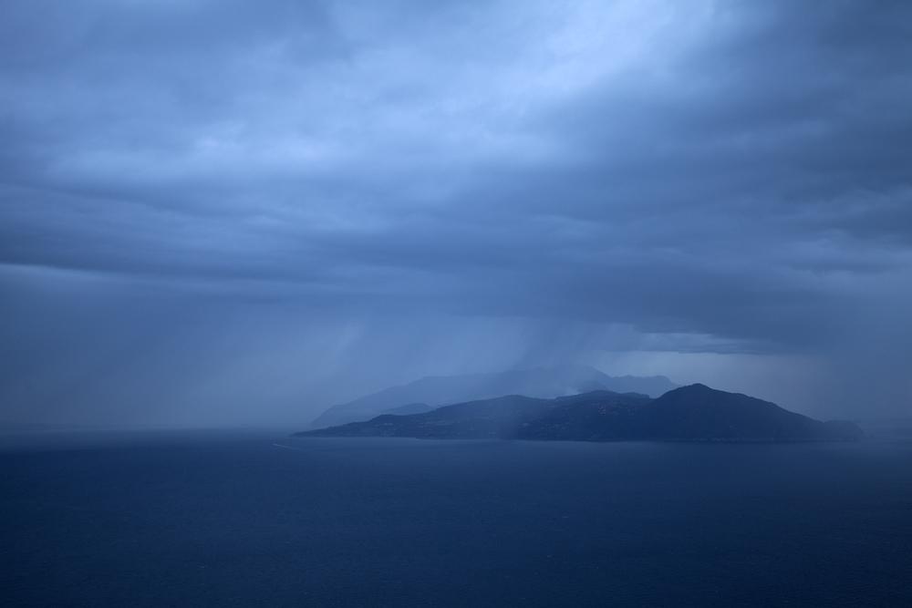 Storm, Capri, Italy