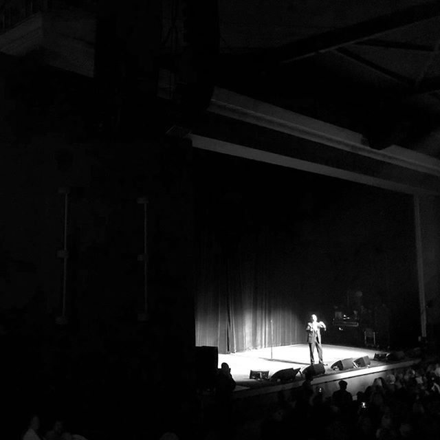 Bucket list moment seeing Jerry Seinfeld perform live at The Greek for #willferrellsbestnightofyourlife supporting @cancerforcollege