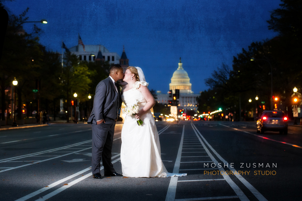 Jenn and Jerry - DC Wedding by Moshe Zusman Photography Studio
