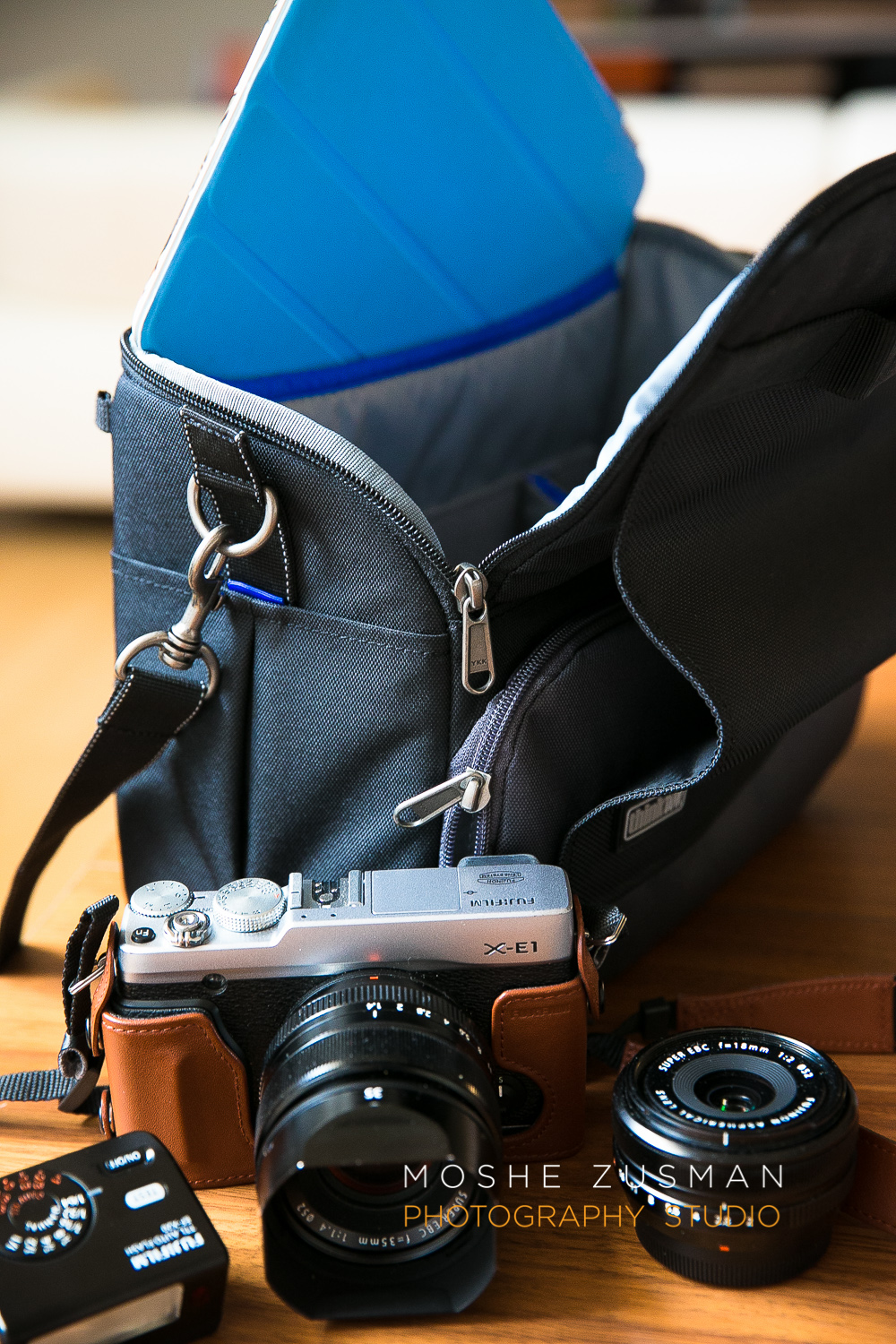 ThinkTank Bag - the Mirrorless Mover 30i and my Fuji X-E1