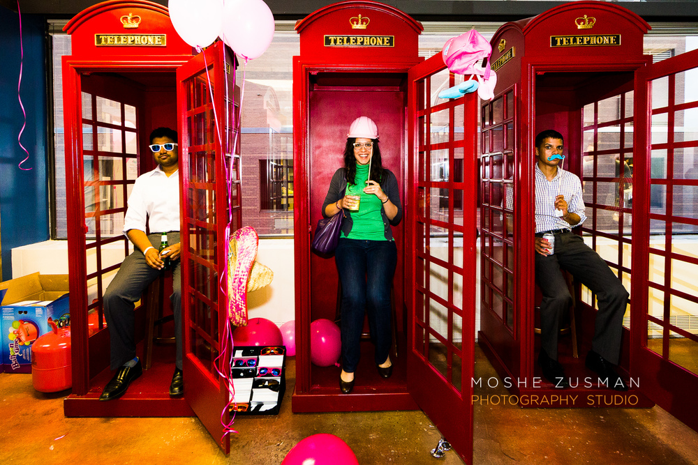 old phone booth photo booth!