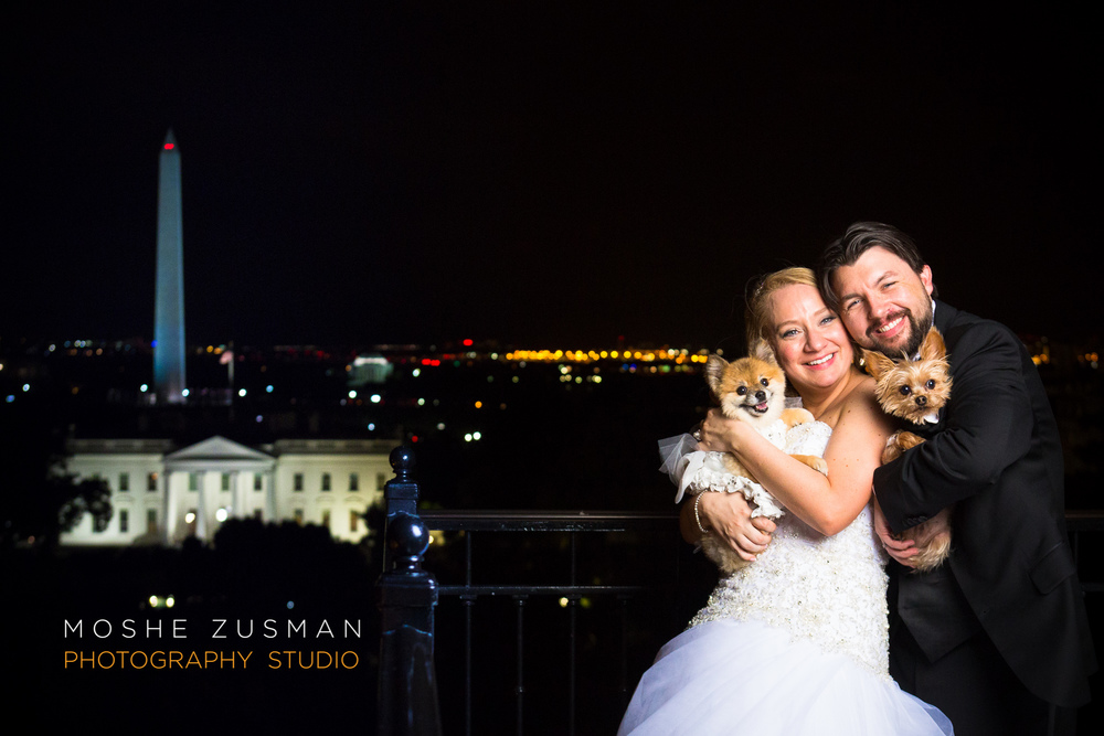 White House view from the Hay Adams Hotel rooftop © MOSHE ZUSMAN PHOTOGRAPHY STUDIO, LLC