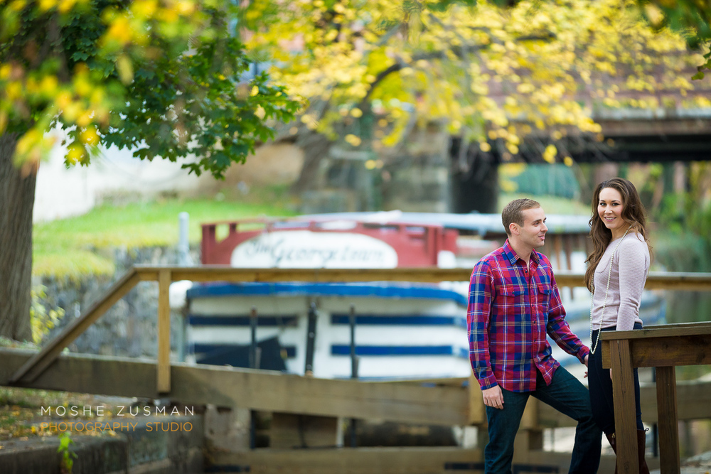 Bethany & Rob's Engagement Photo Shoot in Georgetown © MOSHE ZUSMAN PHOTOGRAPHY STUDIO