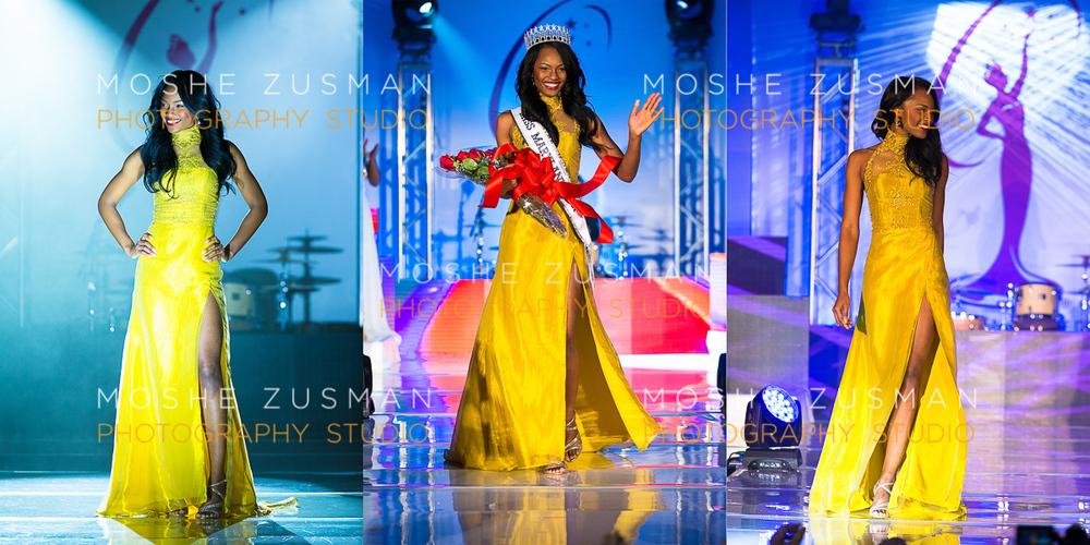 Mame Adjei - Miss Maryland USA 2015 © MOSHE ZUSMAN PHOTOGRAPHY STUDIO