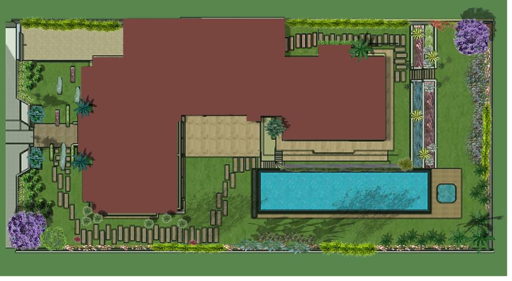 Exemple de plan paysager