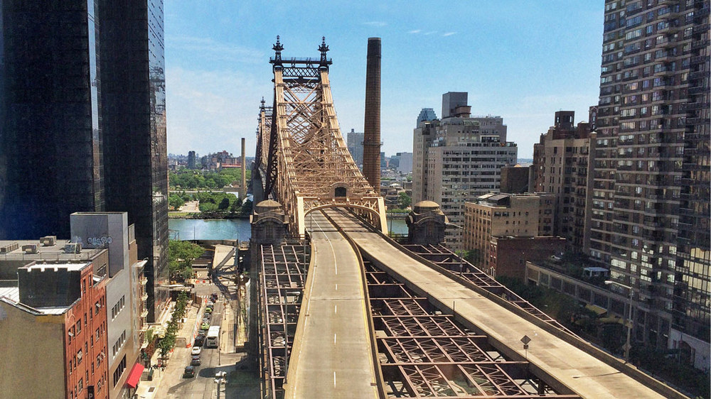 Queensboro Bridge - Retouched