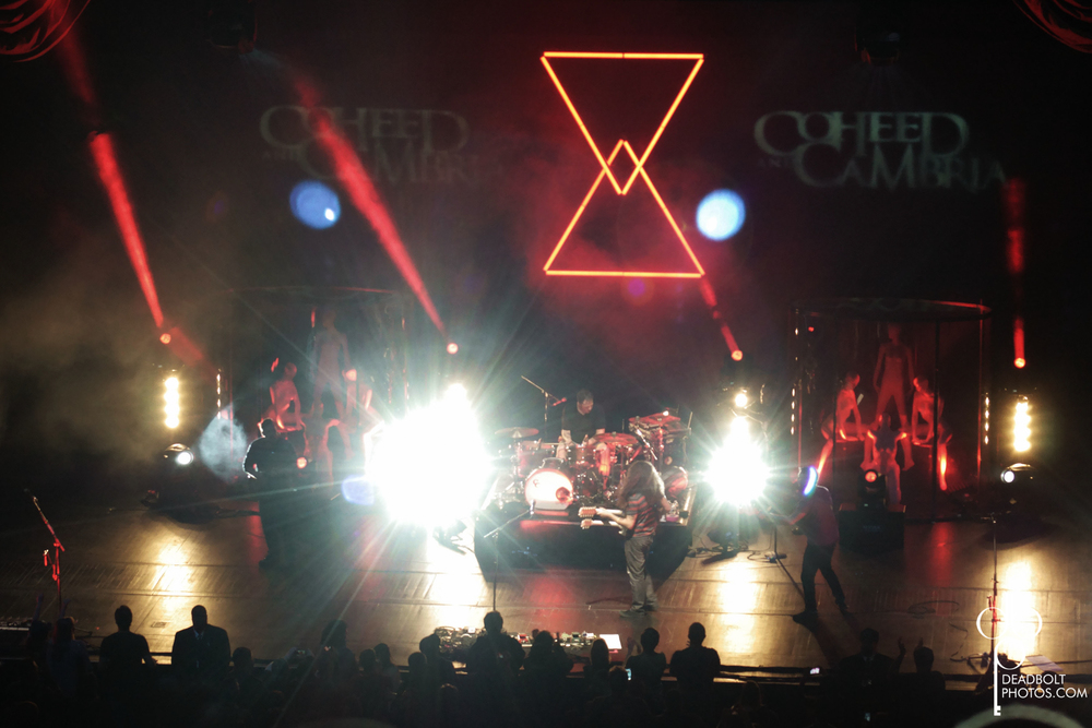 Coheed and Cambria at Radio City Music Hall